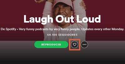Cómo descargar podcasts en Spotify desde la PC paso 5