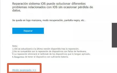 Cómo eliminar bloqueo de iPhone sin iTunes paso 4