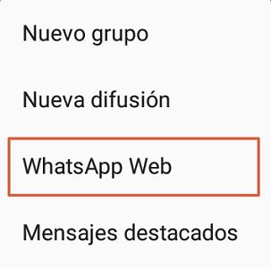 Cómo iniciar sesión en WhatsApp web desde otro teléfono paso 4