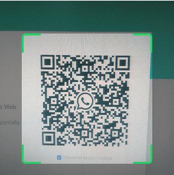Cómo iniciar sesión en WhatsApp web paso 5