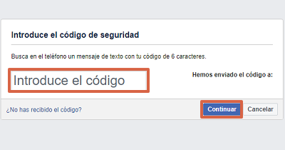 Cómo recuperar una cuenta de Facebook con el correo electrónico paso 4