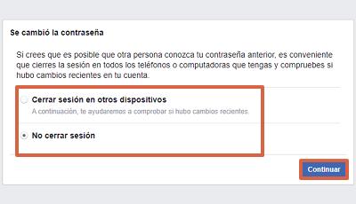 Cómo recuperar una cuenta de Facebook con el número telefónico paso 6