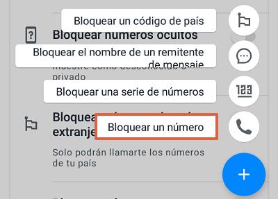 Cómo bloquear el número 911445800 con la aplicación TrueCaller paso 9