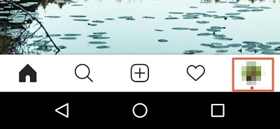 Cómo cerrar sesión en todos los dispositivos de Instagram desde el teléfono paso 1