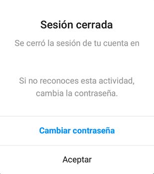 Cómo cerrar sesión individualmente en Instagram desde el teléfono paso 7.