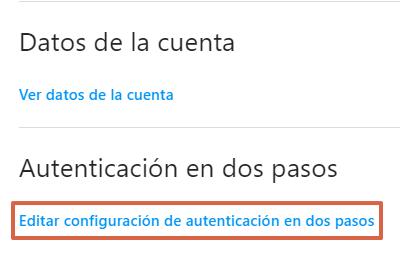 Cómo configurar la autenticación en dos pasos en Instagram desde el navegador paso 3
