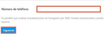 Cómo configurar la autenticación en dos pasos en Instagram desde el navegador paso 6