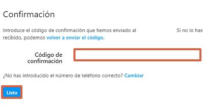 Cómo configurar la autenticación en dos pasos en Instagram desde el navegador paso 7