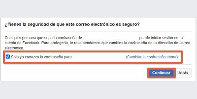 Cómo recuperar cuenta de Facebook con un documento de identidad paso 9