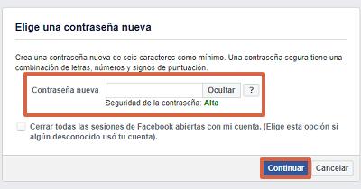 Cómo recuperar cuenta de Facebook identificando fotos de tus amigos paso 7