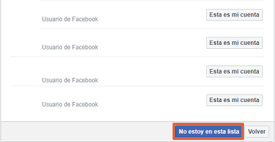 Cómo recuperar cuenta de Facebook sin correo y sin número con amigos de confianza paso 4