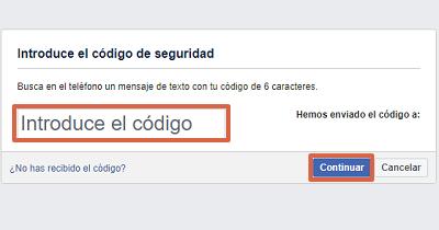 Cómo recuperar cuenta de Facebook sin el correo electrónico paso 4