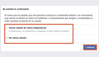 Cómo recuperar cuenta de Facebook sin el correo electrónico paso 6