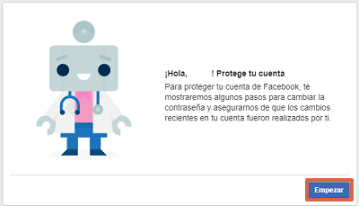 Cómo resguardar una cuenta de Facebook con Facebook Hacked paso 3