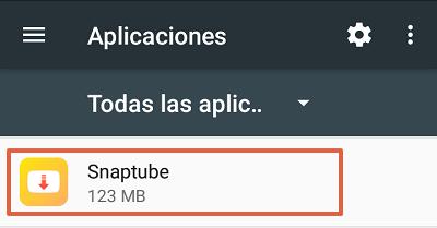 Cómo solucionar el mensaje de error com.google.process.gapps borrando aplicaciones paso 2