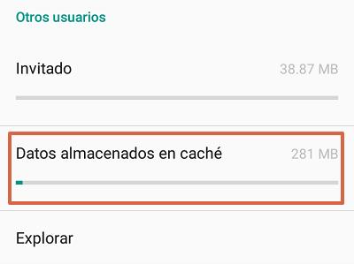 Cómo solucionar el mensaje de error com.google.process.gapps borrando la memoria caché de todas las aplicaciones paso 3