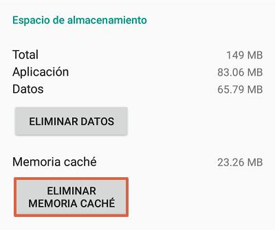 Cómo solucionar el mensaje de error com.google.process.gapps borrando la memoria caché de una aplicación paso 4