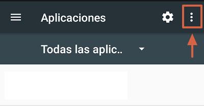 Cómo solucionar el mensaje de error com.google.process.gapps restableciendo preferencias de las aplicaciones paso 1