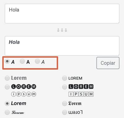 Cómo usar negritas y cursivas en Facebook desde el móvil paso 3