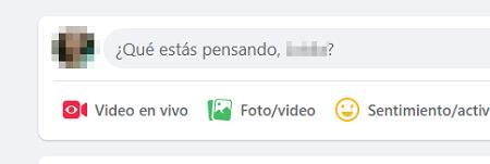 Cómo usar negritas y cursivas en publicaciones de Facebook desde la PC paso 1