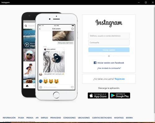 Descargar e instalar Instagram para PC desde la tienda de Microsof paso 4