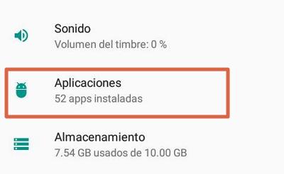 Eliminar datos de contactos para solucionar el error android.process.acore se ha detenido paso 2