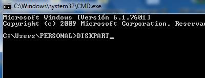 Eliminar protección contra escritura de memoria micro SD con Diskpart en Windows paso 3