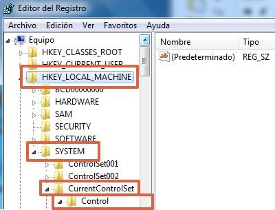 Eliminar protección contra escritura de memoria micro SD desde el Editor del Registro de Windows paso 5