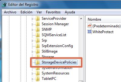 Eliminar protección contra escritura de memoria micro SD desde el Editor del Registro de Windows paso 6