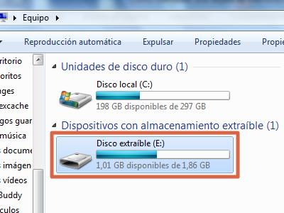 Formatear Micro SD sin protección contra escritura paso 1