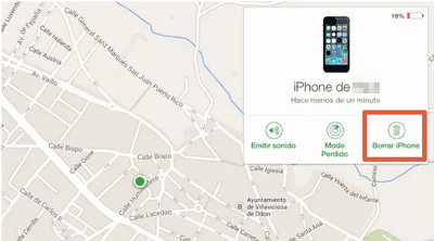 Restablecer Iphone desde iCloud paso 4