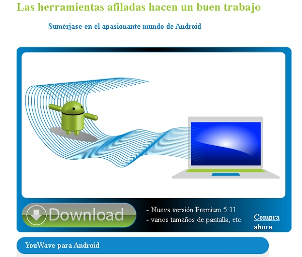 Usar WhatsApp para PC sin celular utilizando emulador YouWave..