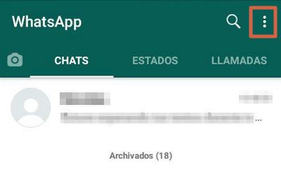 Usar WhatsApp web sin celular paso 2