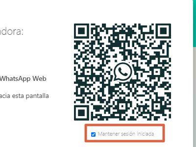 Usar WhatsApp web sin celular paso 6