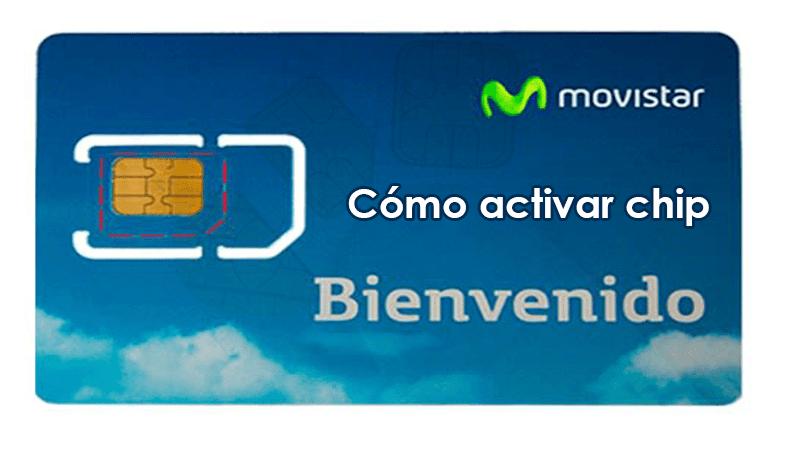 Cómo activar chip de Movistar