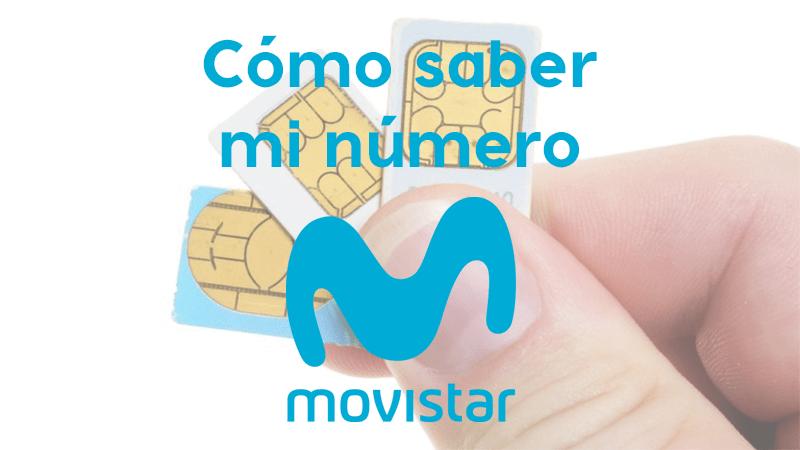 Cómo saber mi número de Movistar