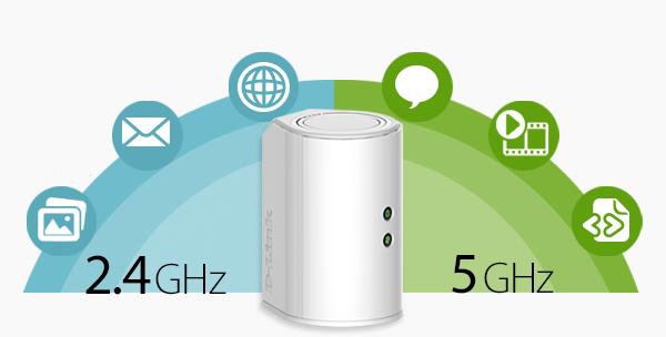 Amplificador WiFi con banda 2.4 GHz y 5 GHz
