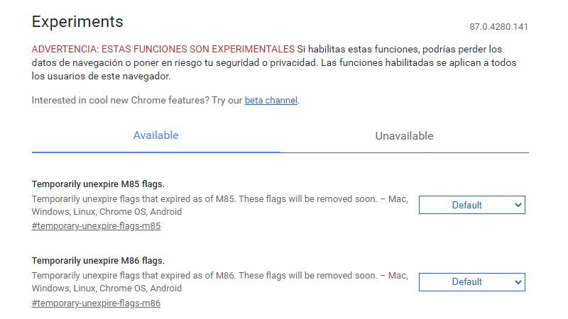 Chrome flags qué es, para qué sirve y cómo activar estas funciones en Chrome