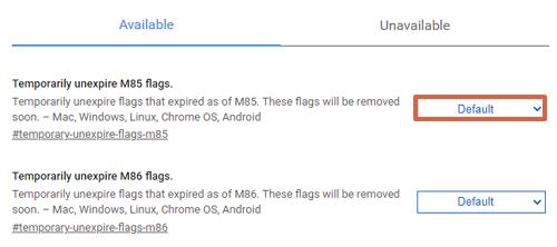 Cómo activar opciones de Chrome flags en el navegador de Chrome paso 2.