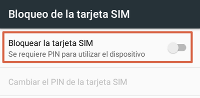 How to change the SIM card PIN of your Android phone step 3