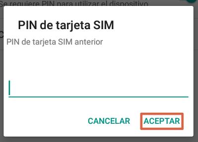How to change the SIM card PIN on your Android phone step 5