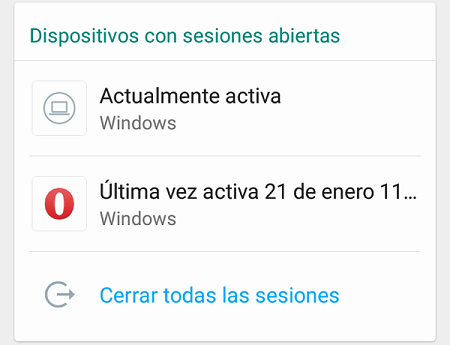 How to close all open WhatsApp web sessions