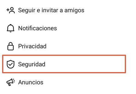 Cómo crear una copia de seguridad en Instagram desde la aplicación paso 4