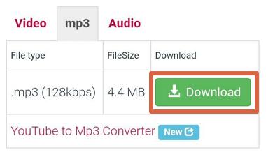 Cómo descargar canciones en Android con Y2mate Downloader paso 6