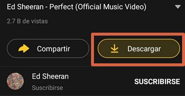 Cómo descargar de YouTube a Android usando Snaptube paso 4