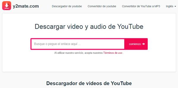 Cómo descargar videos de YouTube a Android desde sitios web con Y2mate