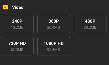 Cómo descargar videos en Android con Snaptube paso 5