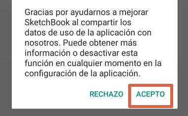 Cómo dibujar en el celular con Autodesk SketchBook paso 1