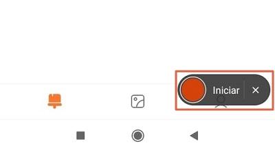 Cómo grabar la pantalla de tu teléfono Xiaomi sin descargar aplicaciones paso 2