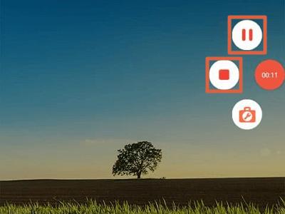 Como grabar pantalla con AZ Screen Recorder paso 6